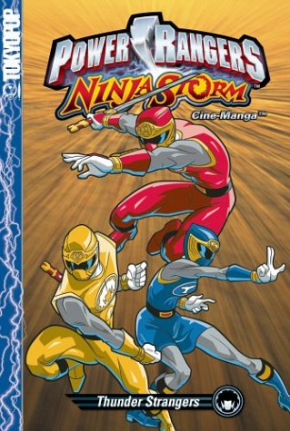 Power Rangers 'Ninja Storm' Vol 3