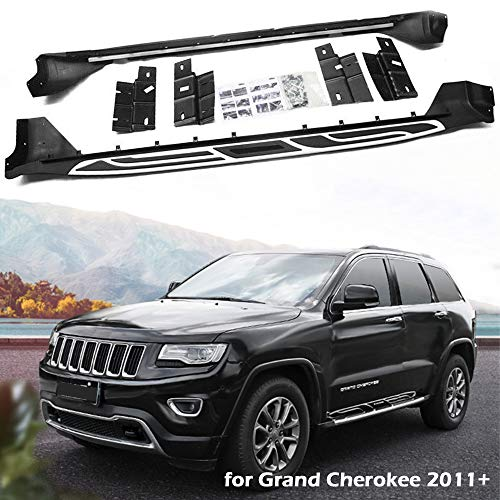 SnailAuto Fit for 2011-2021 Jeep Grand Cherokee Running Board Side Steps Bar Pedals