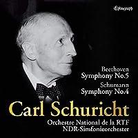 カール・シューリヒト / ベートーヴェン : 交響曲 第5番「運命」 | シューマン : 交響曲第4番 (Beethoven: Sym No.5, Schumann: Sym No.4 / Carl Schuricht | Orchestre National de la RTF / NDR-Simfonieorchester) [UHQCD] [国内プレス] [日本語帯解説付]