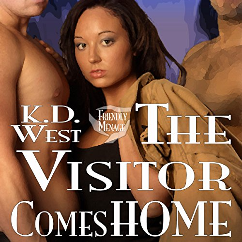 The Visitor Comes Home audiobook cover art