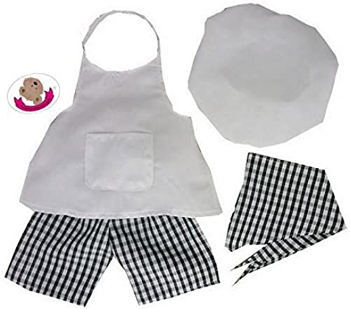 Build Your Bears Wardrobe 15-Inch Clothes Fit Build Bear Chef Outfit by Build your Bears Wardrobe