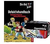 Kos mos Die DREI ??? Set: Detektivhandbuch + Forscherkästchen (Verschiedene Auswahl), für kleine Detektive