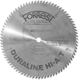 Product Image of the Forrest DH10807125 Duraline 10-Inch 80 Tooth HI-A/T Melamine and Plywood Cutting Saw Blade with 5/8-Inch Arbor