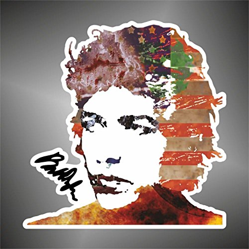 Autocollant Bob Dylan hip hop hard rock pop funk jazz sticker