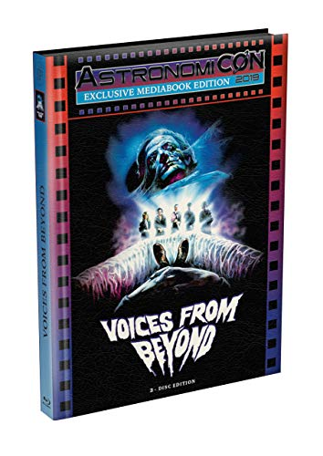 Lucio Fulcis: VOICES FROM BEYOND - 2-Disc wattiertes Mediabook - ASTRO Kult-Edition - Cover A (Blu-ray + DVD) Limited 50 Edition - Uncut