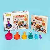 Chefclub Kids Set: Das Rezeptbuch für Kinder mit passenden Messbechern und lustigen Illustrationen - So macht Kochen Spaß!