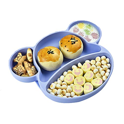 Baby tableware, children's tableware set, suction cup silicone food supplement bowl, BPA-free, safe and odorless