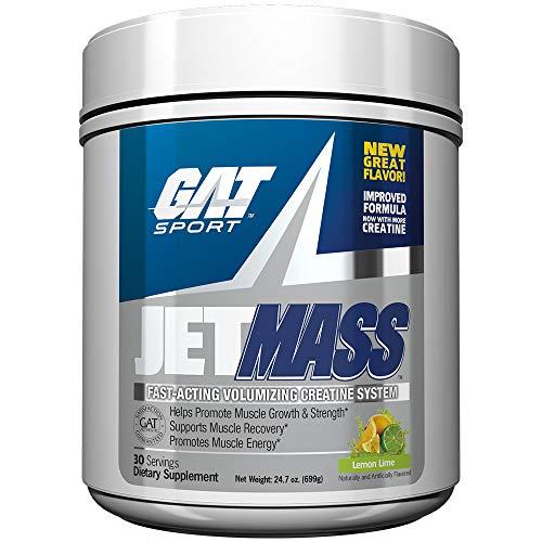 GAT Sport JETMASS FastActing Volumizing Creatine System 30 Servings