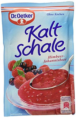 Dr. Oetker Kaltschale Himbeer Johannisbeer, 6er Pack (6 x 57 g)