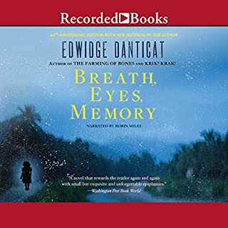 Breath, Eyes, Memory audiobook cover art