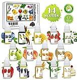 sopalmy Seifenduftöl, 14 Flüssig Duftöl Seifen Duft Set - lebensmittelechte Seifenduftöl zur...