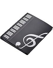 Tamaño A4 Documento de Nota Musical 40 Bolsillos Carpeta Poseedor Caso