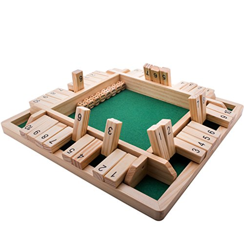 4-Way Shut The Box Dice Game by...