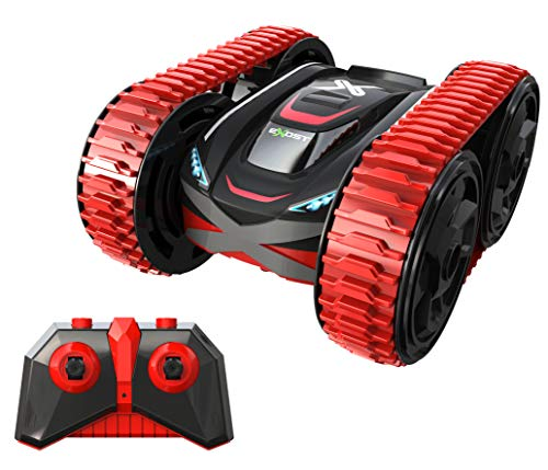 Exost 20256 Silverlit-20256-Stunt Tank ferngesteuertes Auto-Spielzeugauto-ab 5 Jahren-rot-Maßstab 1:18, NC