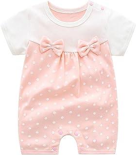100٪ القطن الطفل لينة السروال القصير ملابس الرضع طفل حللا الوليد الطفل الأميرة الفتيات الملابس (Color : Brown, Kid Size : 6M)