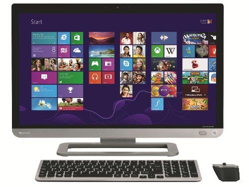 Toshiba Qosmio PX30t-A-115 All-in-One 58,4 cm (23 Zoll) Desktop PC (Intel Core i7 4700MQ, 2,4GHz, 16GB RAM, 3TB HDD, NVIDIA GT 740M, Blu-ray, Win 8, Touchscreen) schwarz