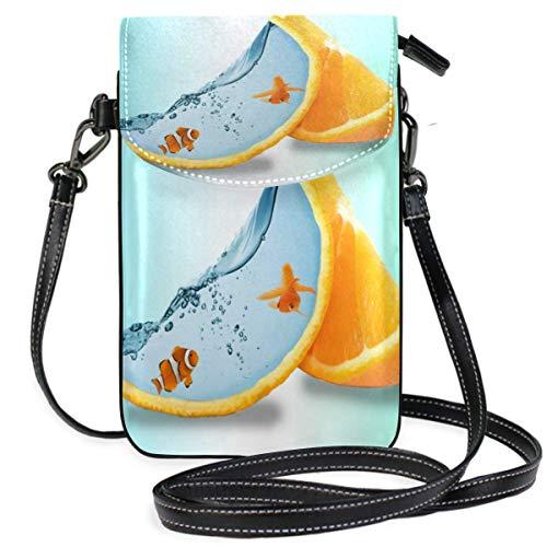 XCNGG Book Fish Girl, monedero para teléfono celular, bandolera, bolso, bolsos de hombro, billetera para mujeres, niñas, viajes, bodas