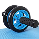 SONGMICS AB Roller AB Wheel Rueda para Flexiones Entrenamientos de Abdominals Push Up con...
