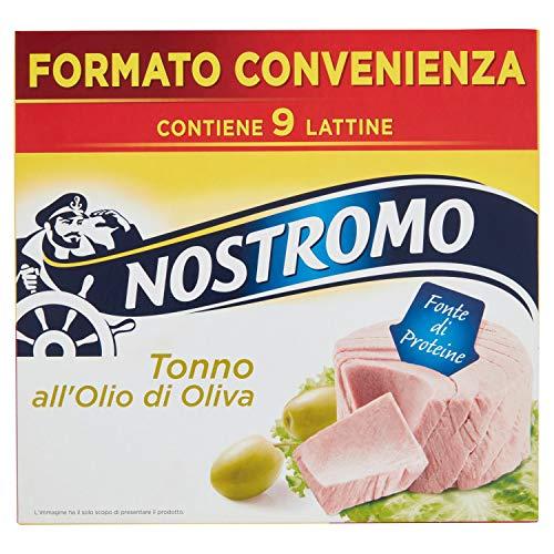 Nostromo Tonno All'Olio Di Oliva Multipackpiano 9 Lattine - 630 Gr