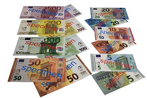 WISSNER aktiv lernen - Euro Spielgeld zum Rechnen 40 Banknoten