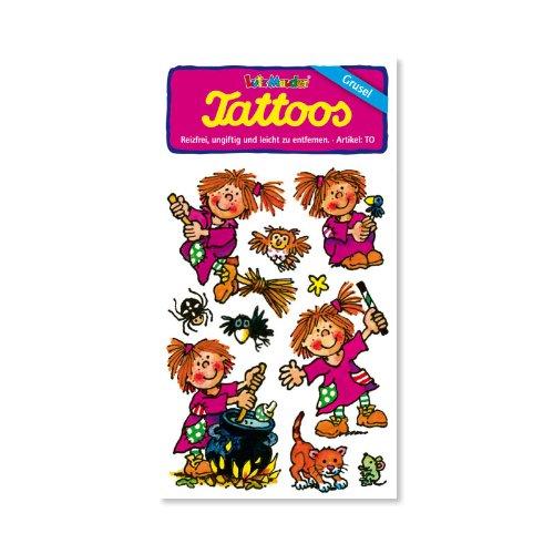 Lutz Mauder Lutz Mauder44547 sorcière Violette Tattoo (Taille Unique)