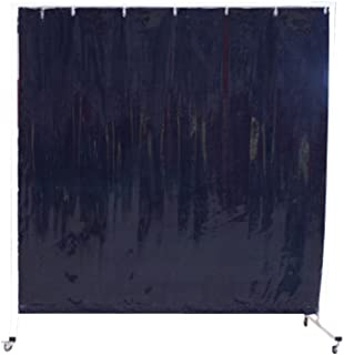 Sellstrom S97710-3 Cepro Vinyl Welding Curtain with Snap Fasteners, 6' Width x 6' Height x 14 mil Thick, Transparent Green ( Frame Not Included - Sold Seperately # S94250 )