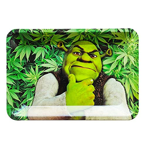 Metal Rolling Trays, Rolling Box Storage Boxes, Multifunction Household Trays (Small)