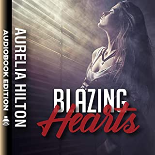 Blazing Hearts     A Hot & Steamy Aurelia Hilton's Romance Short Novel, Book 15              By:                                                                                                                                 Aurelia Hilton                               Narrated by:                                                                                                                                 Milena Stone                      Length: 1 hr and 4 mins     55 ratings     Overall 4.9