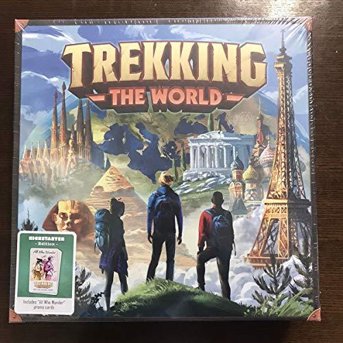 Trekking The World ボードゲーム ボドゲ 翻訳付き