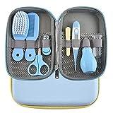 8 unids/set tijeras de uñas para bebés Clipper portátil para niños juegos de herramientas para el cuidado de la salud Kits de cuidado de aseo recién nacidos para regalo para niños pequeños