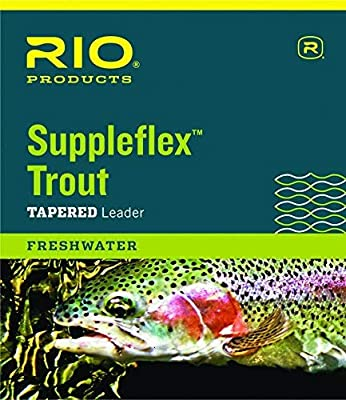 Rio Fishing Products Suppleflex Trout Leaders, 3 Pack