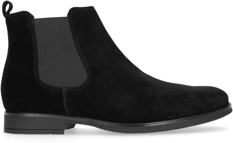 Sacha Schuhe Herren Chelsea Boots Leder B0767793QR  | Charakteristisch