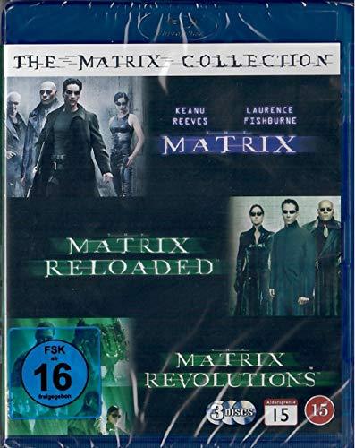 Matrix 1-3 The Complete Trilogy (Teil 1+2+3, Trilogie) [Blu-ray] [EU Import mit Deutscher Sprache]