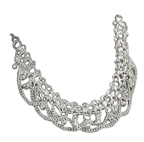 Egypt Bazar Halskette indischer Stil, als Bauchtanz, Tribal-Dance, Bollywood-Accessoire geeignet- Orientalischer-Schmuck
