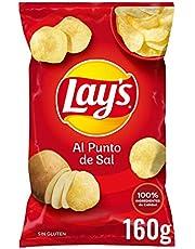 Lay'S Patatas Fritas Al Punto de Sal, 160g