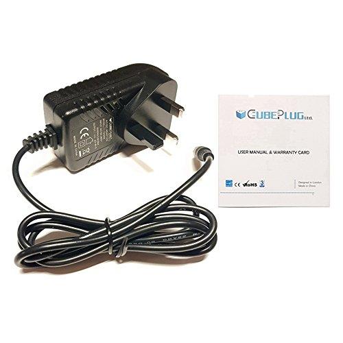 Cubeplug Replacement Power Supply for Kettler Giro P Advantage Exercise Bike 9v UK