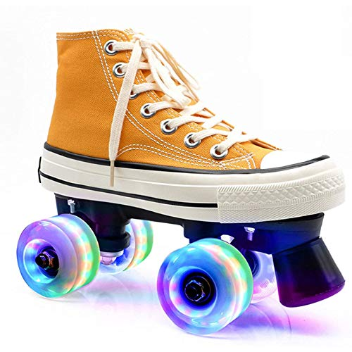 CHLDDHC Lona, Patines, Patines Transpirables Y Cómodos, Patines para Adultos, Patines para Jóvenes