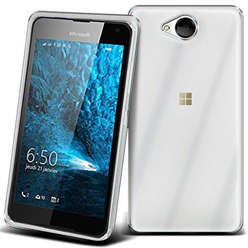 Microsoft Lumia 650 4G/LTE PROTEKTOR case TPU transparent Tasche Hülle - Zubehör Etui cover Nokia Lumia 650 Single/Dual Sim - XEPTIO accessoires