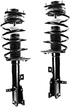 DTA 50134 Front Complete Strut Assemblies With Springs and Mounts Ready to Install OE Replacement 2-pc Pair Fits 2009-2013 Journey