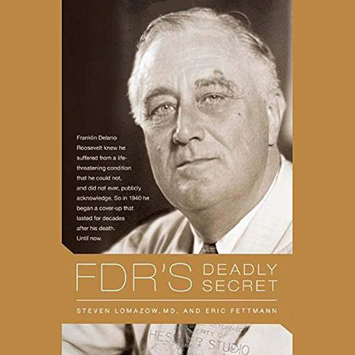 FDR's Deadly Secret audiobook cover art