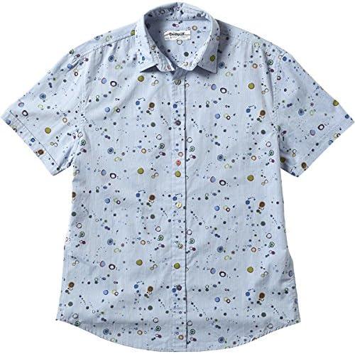 Desigual CAM_Luis Camiseta, Bleu (Skyway), M para Hombre ...