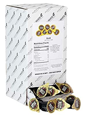 100 Shots of SToK Espresso Coffee Shots Caffeinated Cold Brew in Dispenser Box