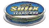 Sufix Performance Lead Core 100Yardas línea de Pesca con medidor Digital, Unisex, Transparente