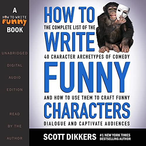 『How to Write Funny Characters』のカバーアート