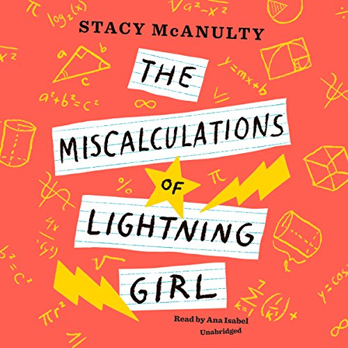 The Miscalculations of Lightning Girl audiobook cover art