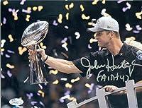 John Harbaugh autographed 8x10 Photo (Baltimore Ravens Super Bowl Champions) JSA Authentication #P44362 Image #4