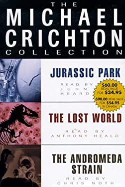 Michael Crichton Value Collection: Andromeda Strain, Jurassic Park, and The Lost World (The Michael Crichton Collection)