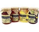 Miel de abeja pura España 100% Natural, Miel cruda, Pack de degustación de miel pura - 2 Kg