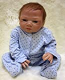 Pinky Reborn 18' 45cm Soft Silicone Vinyl Real Life Like Reborn Babies Doll Realistic Reborn Baby Dolls with...