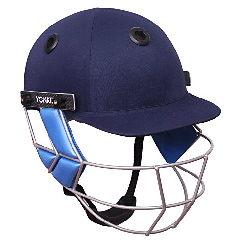 Yonker Club Cricket Helmet Sizes: L (60cm-63cm)
